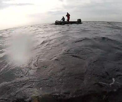 """Porzucona łódź podwodna na Bałtyku. """"Jesteś na środku morza i idziesz po okręcie"""""""