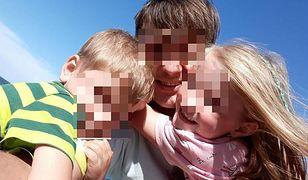 Tomasz M. z dziećmi