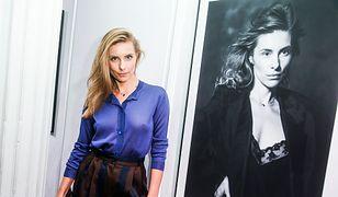 Katarzyna Zawadzka nie założyła stanika. Prześwitująca bluzka dokończyła dzieła