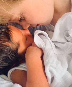 Poroniła 8 razy. W końcu urodziła dziewczynkę z nietypowymi włosami
