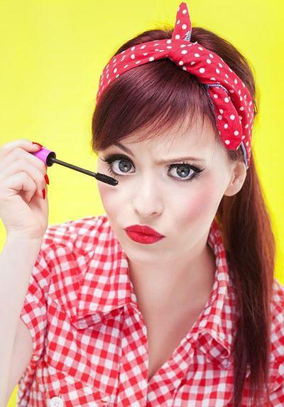 Intensywny makijaż