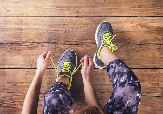 Buty sportowe charakteryzują się często ciekawymi kompozycjami kolorów