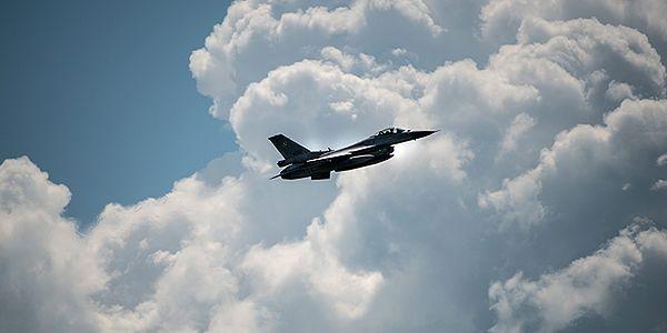 Amerykański F-16 rozbił się w Arizonie