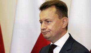 """Mariusz Błaszczak krytykuje współpracę Rosji i Niemiec. """"To prowadzi do absurdu"""""""