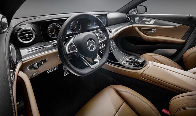 Mercedes-Benz Klasy E. Pierwsze zdjęcia wnętrza