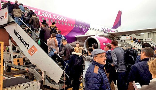 Wizz Air likwiduje połączenia z Polski. Zmiany już od października