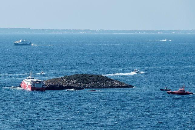 Wypadek promu u wybrzeży Ibizy, EPA/Sergio G. Canizares