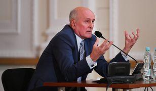 Andrzej Waltz, mąż prezydent Warszawy, przed komisją weryfikacyjną