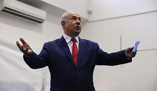 Benjamin Netanjahu zdobył 33 miejsca w Knessecie - wskazują wyniki exit poll