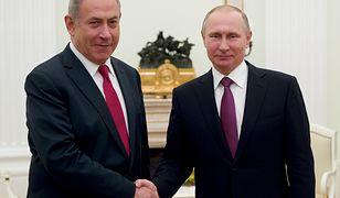 Benjamin Netanjahu i Władimir Putin rozmawiali już telefonicznie