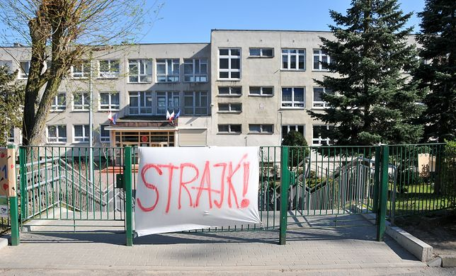 Strajk nauczycieli 2019