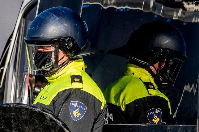 Policja w Amsterdamie - zdjęcie ilustracyjne