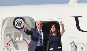 1 września. W Warszawie wylądował Mike Pence