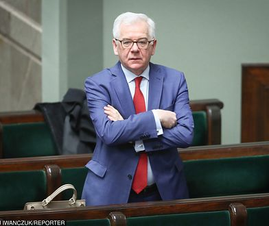 Szef MSZ, minister Jacek Czaputowicz.