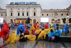 Kraków Główny. Ogromne opóźnienia pociągów z Krakowa. Przyczyną awaria zasilania