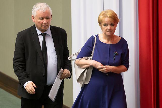 Całe PiS modli się za Szczypińską. Jarosław Kaczyński jest z nią w kontakcie