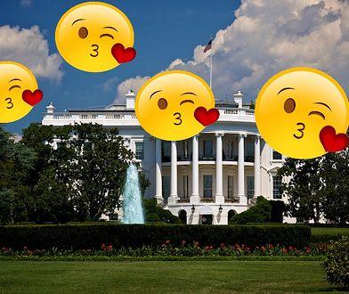 """Prawdopodobnie w Białym Domu ktoś korzystał z aplikacji """"do trójkącików"""""""