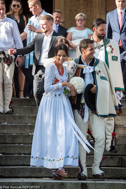 Paulina Krupińska i Sebastian Karpiel-Bułecka wzięli ślub