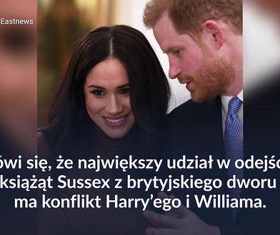 Kulisy konfliktu księcia Williama i księcia Harry'ego