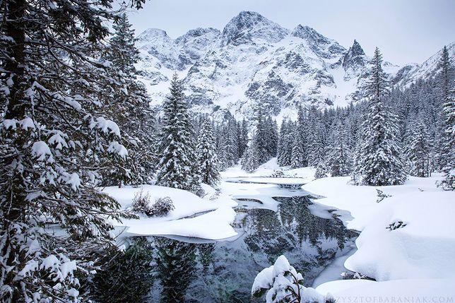 To nie film, to natura. Zima w Tatrach zapiera dech