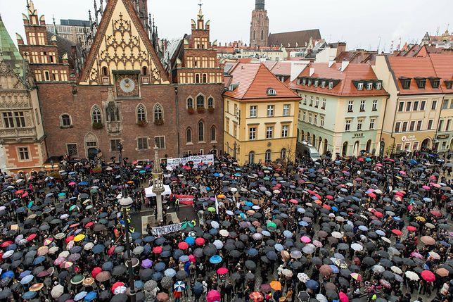 """""""Czarny Poniedziałek"""" we Wrocławiu, 3 października 2016 r."""