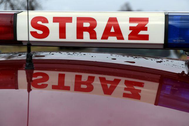 Pożar w kamienicy we Wrocławiu. Ewakuacja mieszkańców