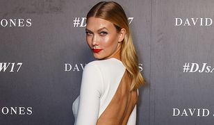 LOOK OF THE DAY: Karlie Kloss w bieli