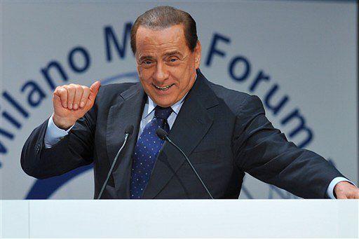 """Tajemnicze """"cuda"""" na terenie willi Berlusconiego"""