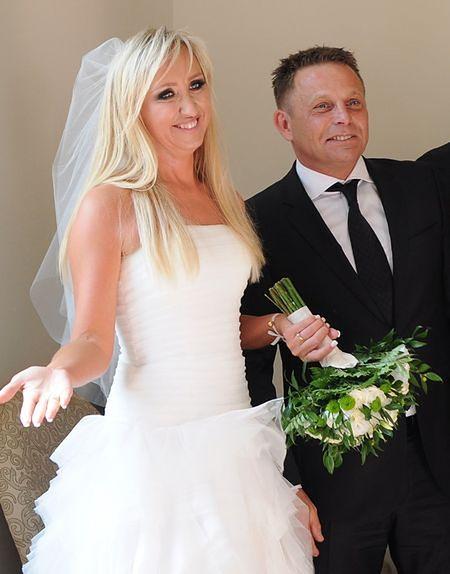Leszek Kuzaj z żoną
