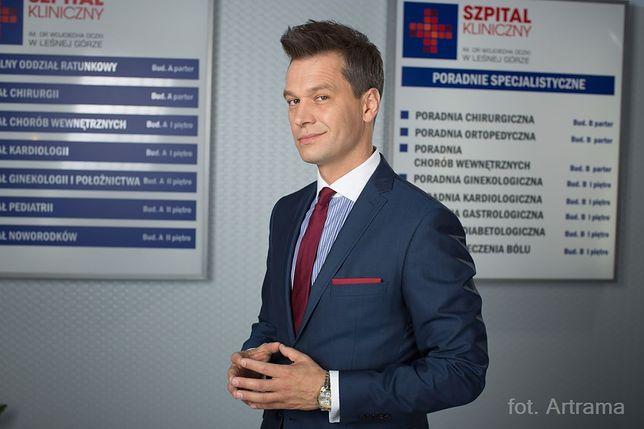 """""""Na dobre i na złe"""": Michał Żebrowski musi się już farbować?"""