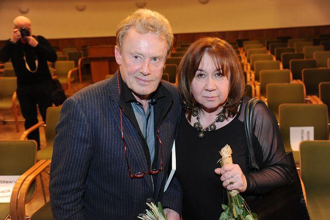 Krystyna Demska-Olbrychska coraz częściej publicznie zabiera głos w obronie znanych osób.