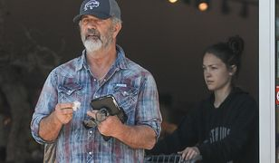 Mel Gibson opuszcza kwarantannę na rzecz zakupów. Aktor nie wygląda dobrze