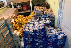 Celnicy w szoku. Autobus przewoził 2 tony towaru z promocji w Biedronce