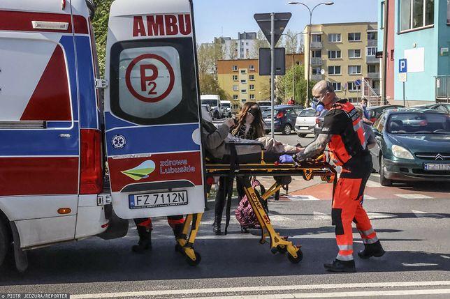 Ratownicy medyczni w akcji