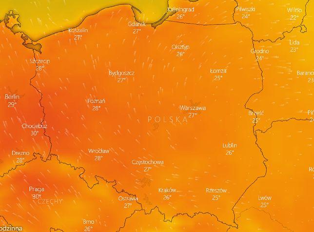 Pogoda na 15 września. IMGW ostrzega przed upałami