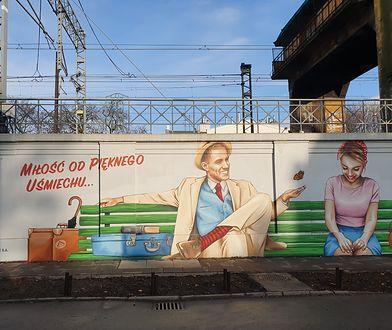 Mural w Gdańsku miał przedstawiać randkującą parę. Pomysłodawcy nie wszystko przewidzieli