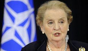 """Madeleine Albright o """"tajnej mowie"""" swych brosz"""