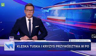 """""""Wiadomości"""" TVP zrecenzowały aktywność Tuska. Padły mocne słowa"""