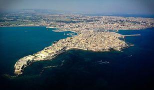 Ortygia w Syrakuzach to najstarsza część miasta, którą odwiedzają liczni turyści