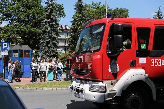 Fałszywy alarm bombowy w Piasecznie