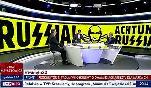 """Środa 28 listopada 2018 roku. Program Michała Rachonia """"Minęła 20""""."""