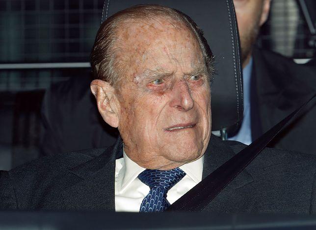 Książę Filip przez dolegliwości zrezygnował z wystąpień publicznych