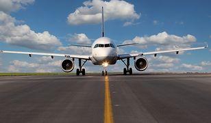 Grecja - silnik samolotu pokazał moc