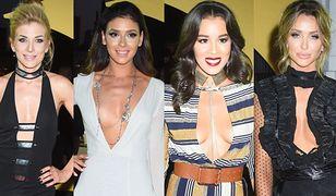 Gwiazdy postawiły na seksowne dekolty na imprezie Playboya! Która wyglądała najbardziej hot?