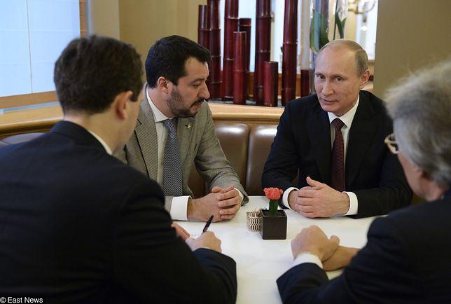 """""""Europejski Trump"""", czyli jak Kreml wspiera Włochów"""