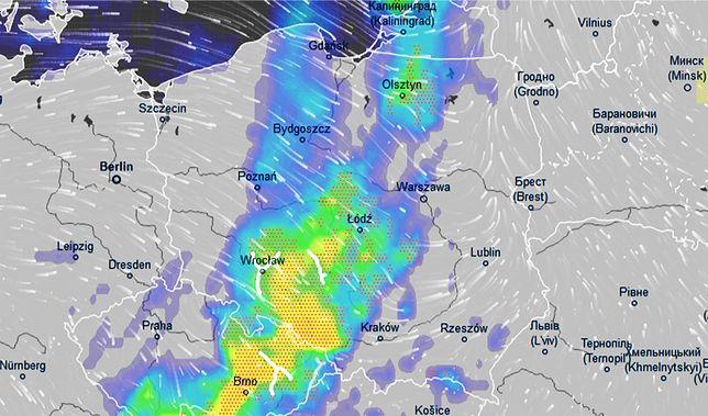 Pogoda. Piorun uderzył w cysternę. Groźny front nad Polską