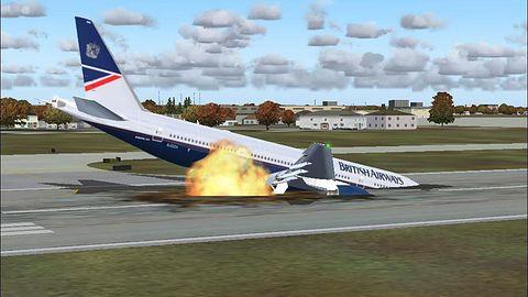 Koniec z graniem w samolotach?