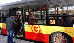 W autobusie doszło do awantury