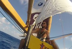 Zbudował łódkę i przepłynął nią ocean. Wielki wyczyn Polaka