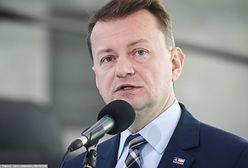 """Mariusz Błaszczak broni ustawy. """"Tego oczekują Polacy"""""""